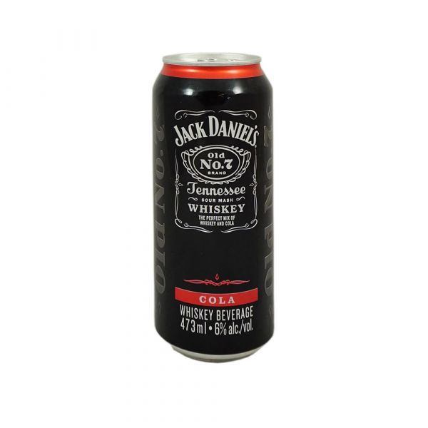 Jack & Cola Single Can